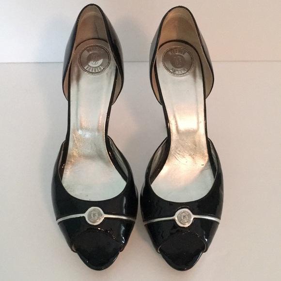 100 Authentic Versace Peep Toe Heels